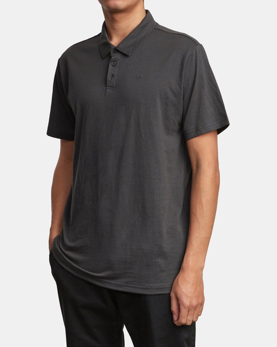 3 SURE THING III POLO SHIRT Black M9101RST RVCA