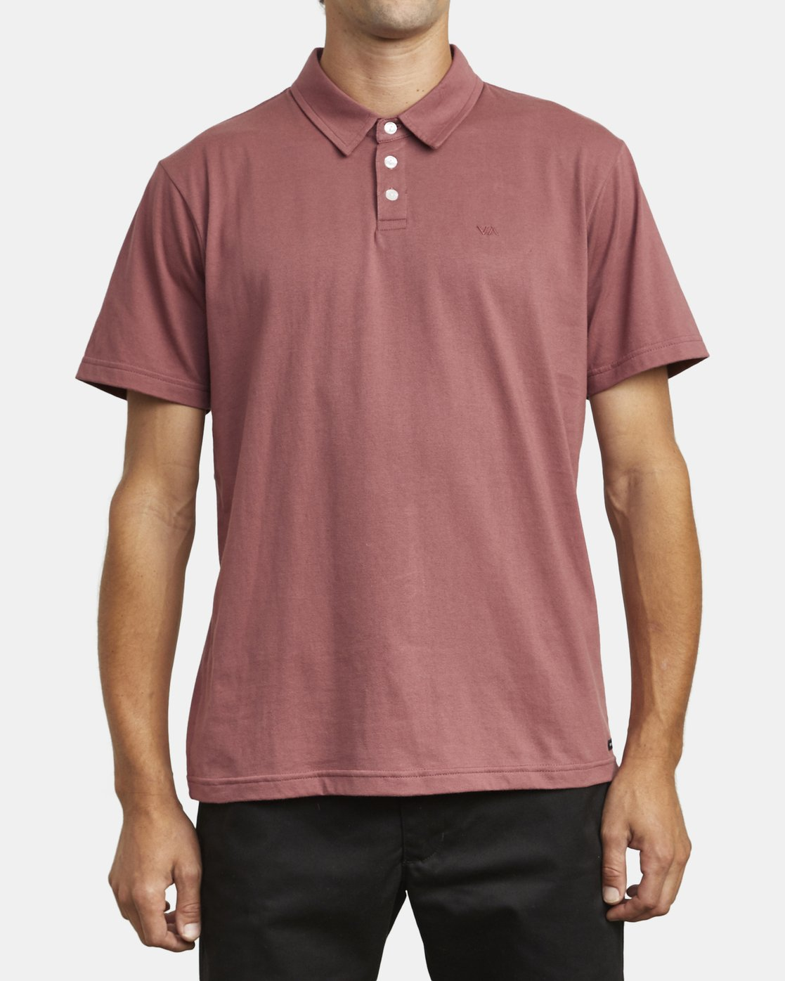 2 SURE THING III POLO SHIRT Red M9101RST RVCA