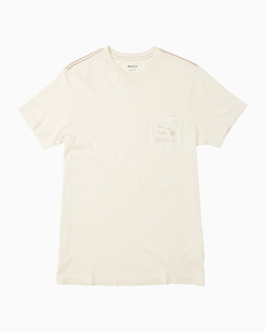 0 Islands PTC Fade Pocket T-Shirt Silver M912NRIP RVCA