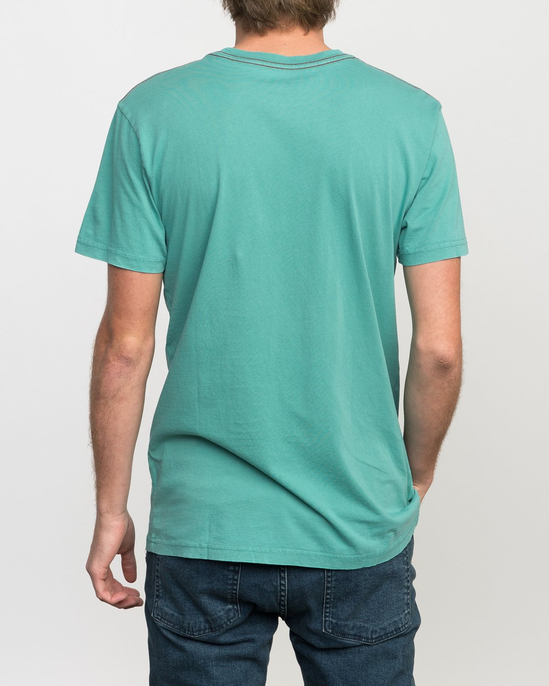 3 Islands PTC Fade Pocket T-Shirt Green M912NRIP RVCA