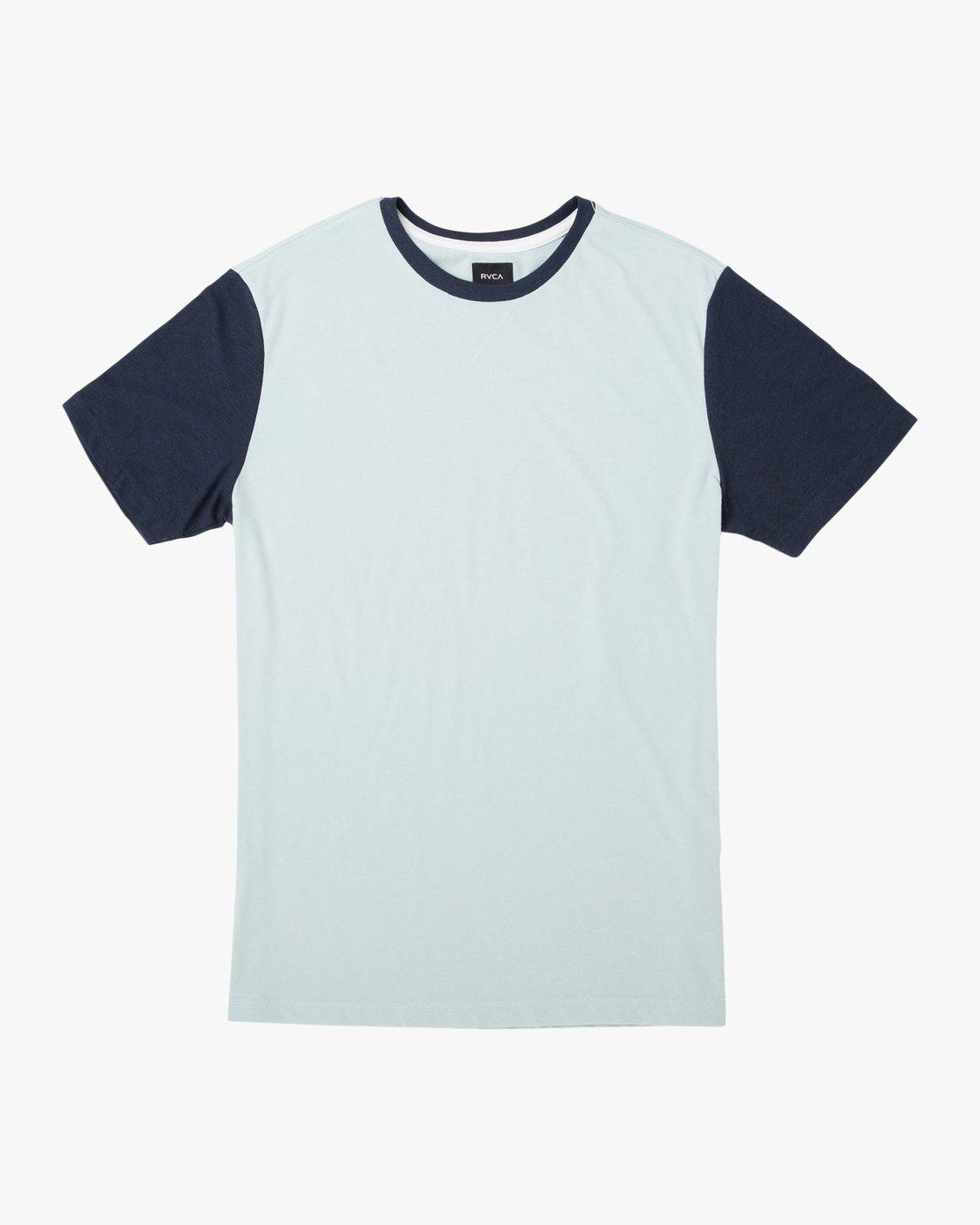 0 Pick Up II Knit T-Shirt Blue M913QRPU RVCA