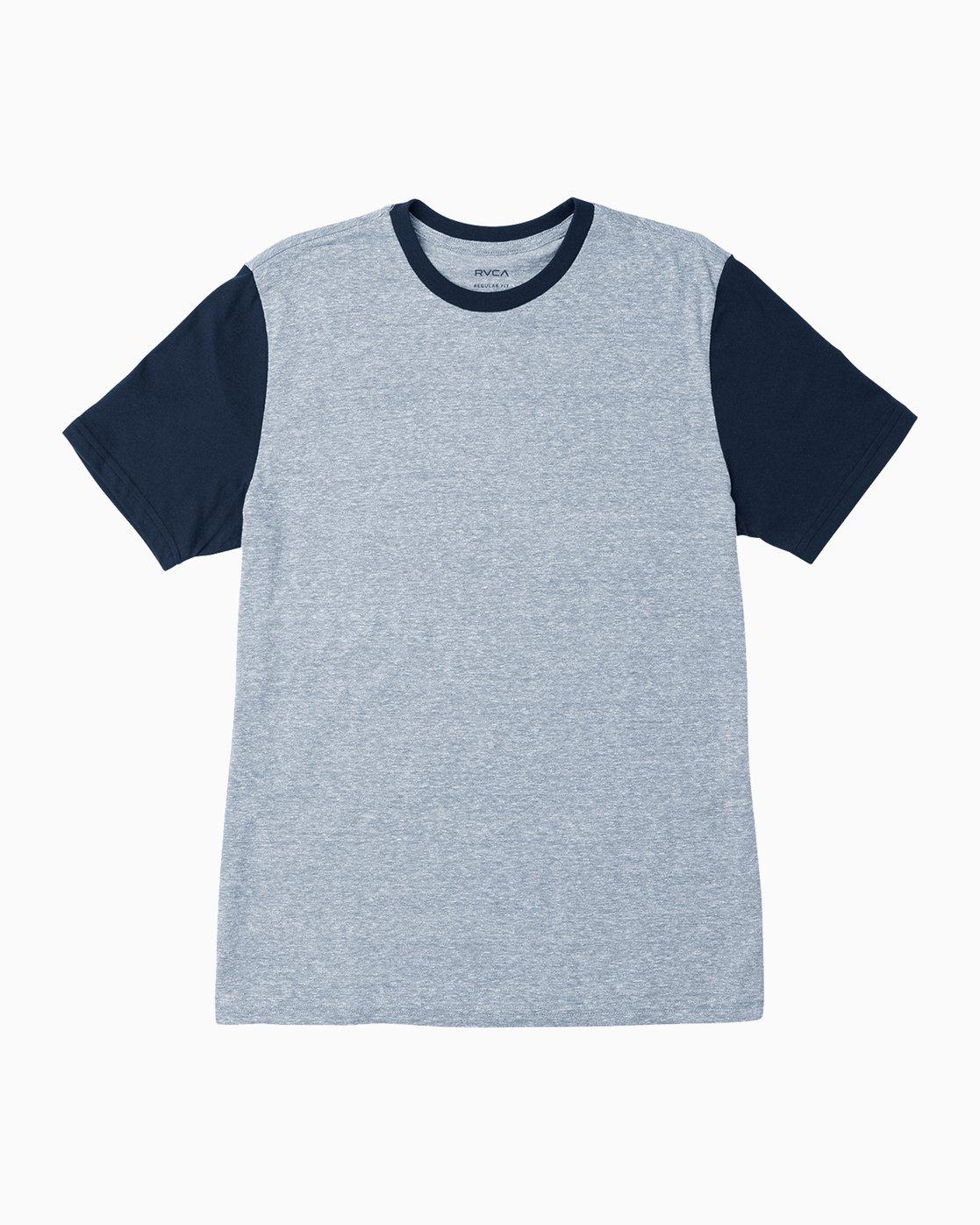 0 Pick Up II Knit T-Shirt Grey M913QRPU RVCA