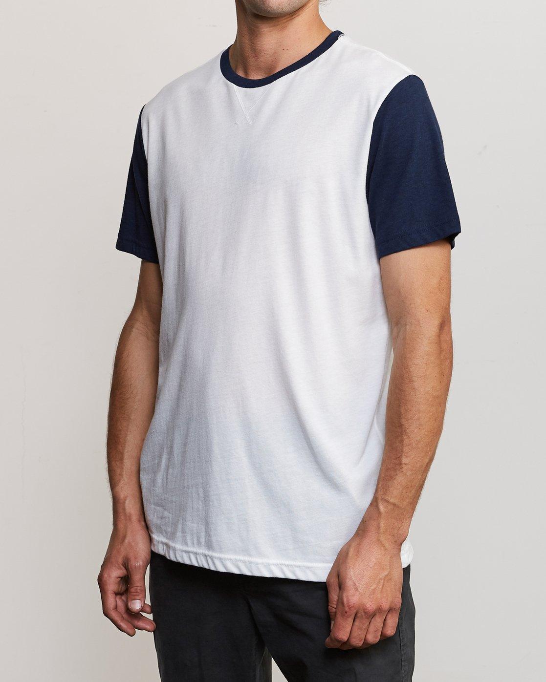 2 Pick Up Knit Shirt White M913QRPU RVCA