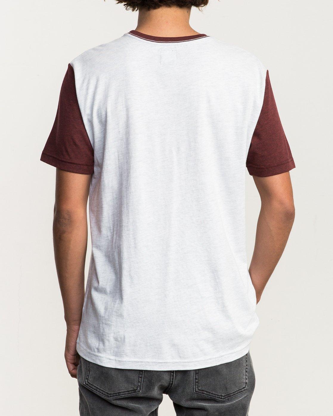 3 Pick Up II Knit T-Shirt White M913QRPU RVCA
