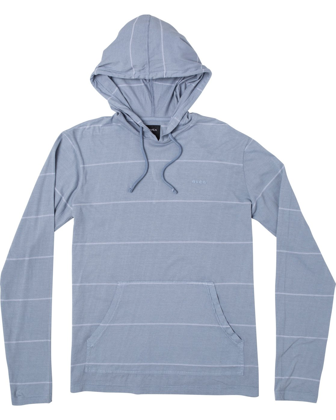 0 PTC STRIPE HOODED LONG SLEEVE TEE Blue M9553RPS RVCA