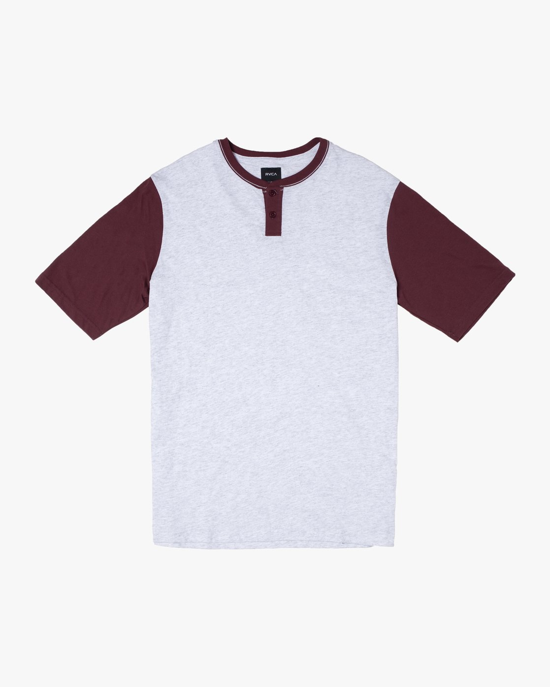 0 PICK UP HENLEY KNIT TOP White M9591RPU RVCA