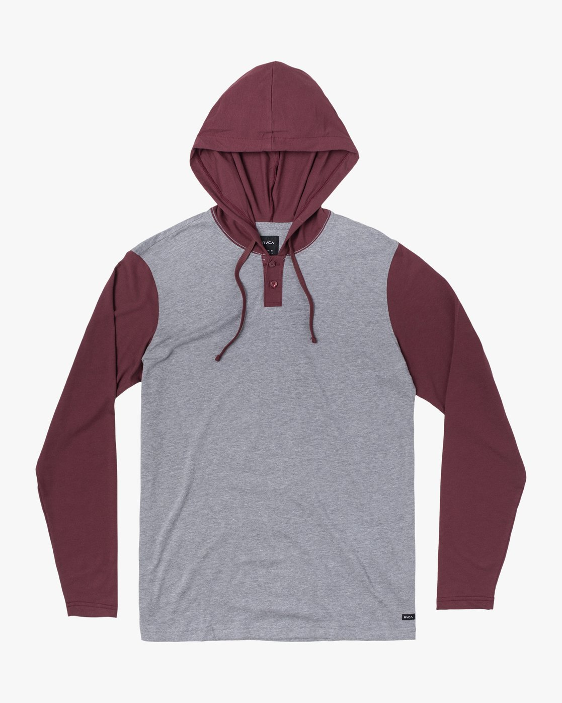 0 PICK UP II HOODIE Red M9593RPU RVCA