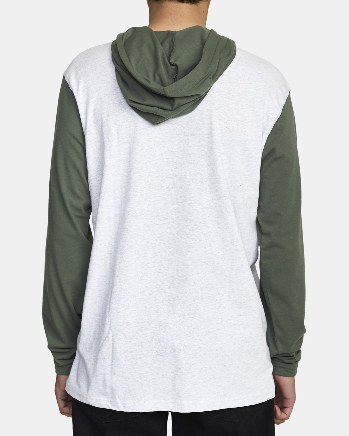 3 PICK UP II HOODIE Green M9593RPU RVCA