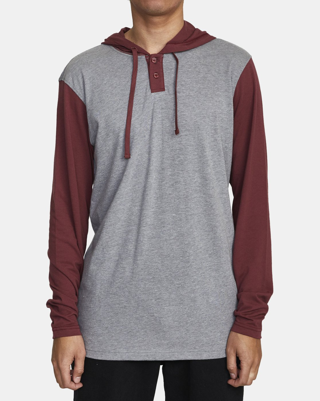 1 PICK UP II HOODIE Red M9593RPU RVCA