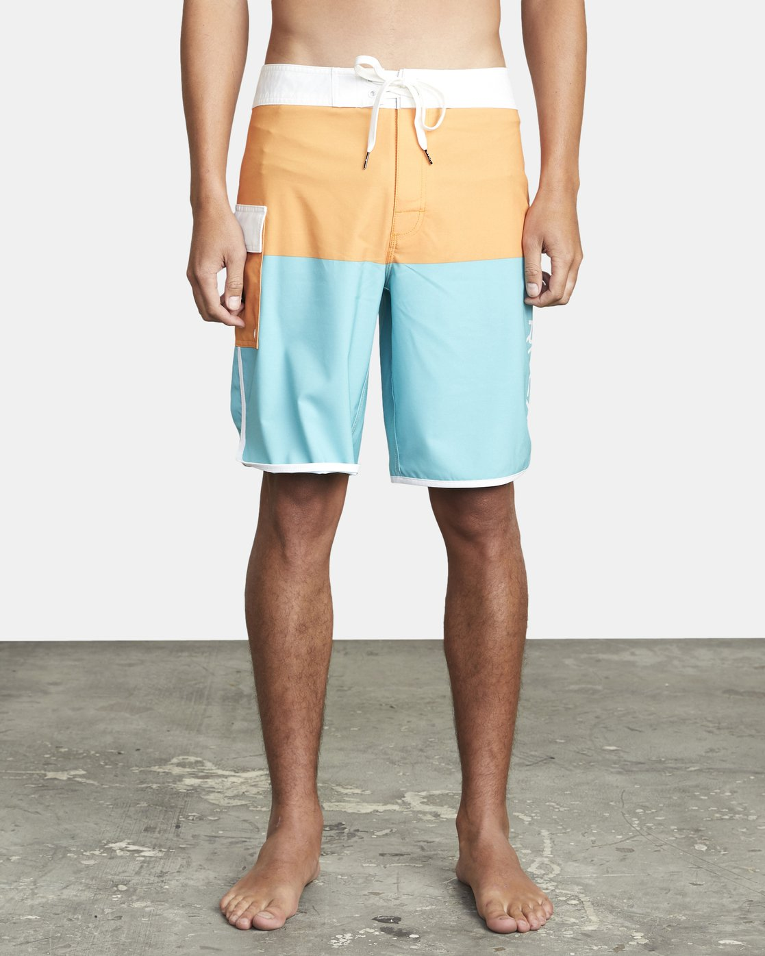 "2 EASTERN BOARDSHORT 20"" Orange MA117EAS RVCA"