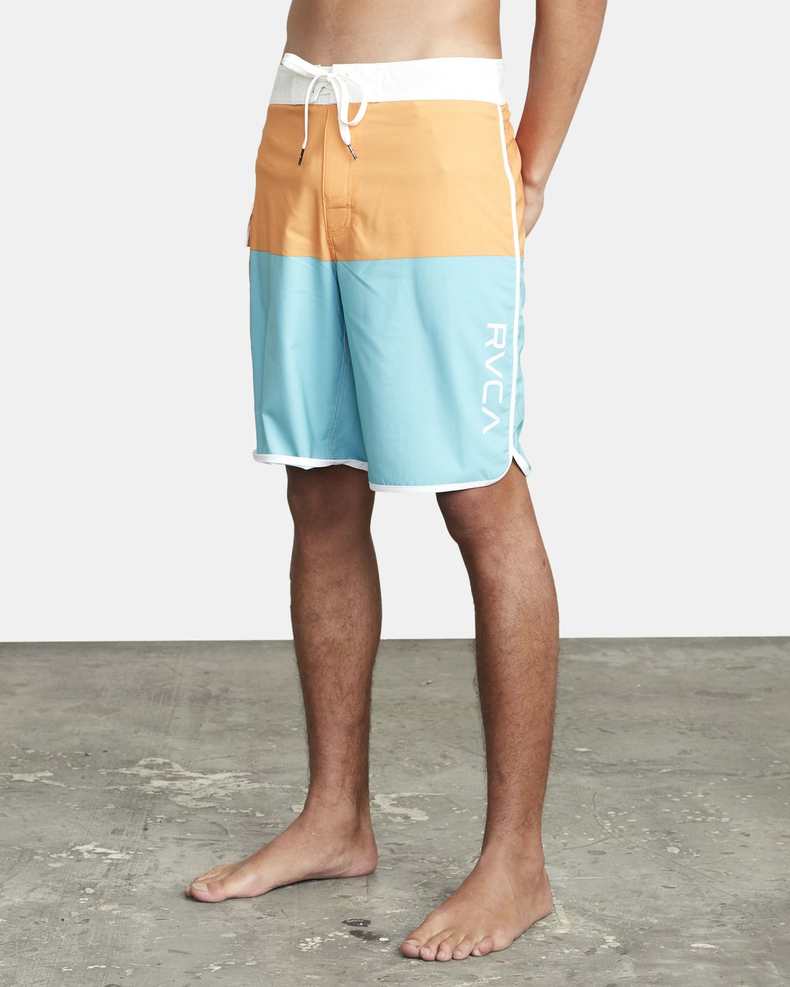 "4 EASTERN BOARDSHORT 20"" Orange MA117EAS RVCA"