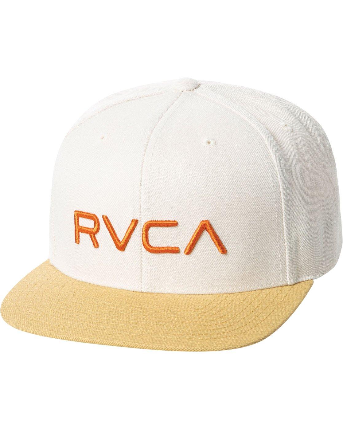 0 RVCA TWILL II SNAPBACK HAT White MAAHWRSB RVCA
