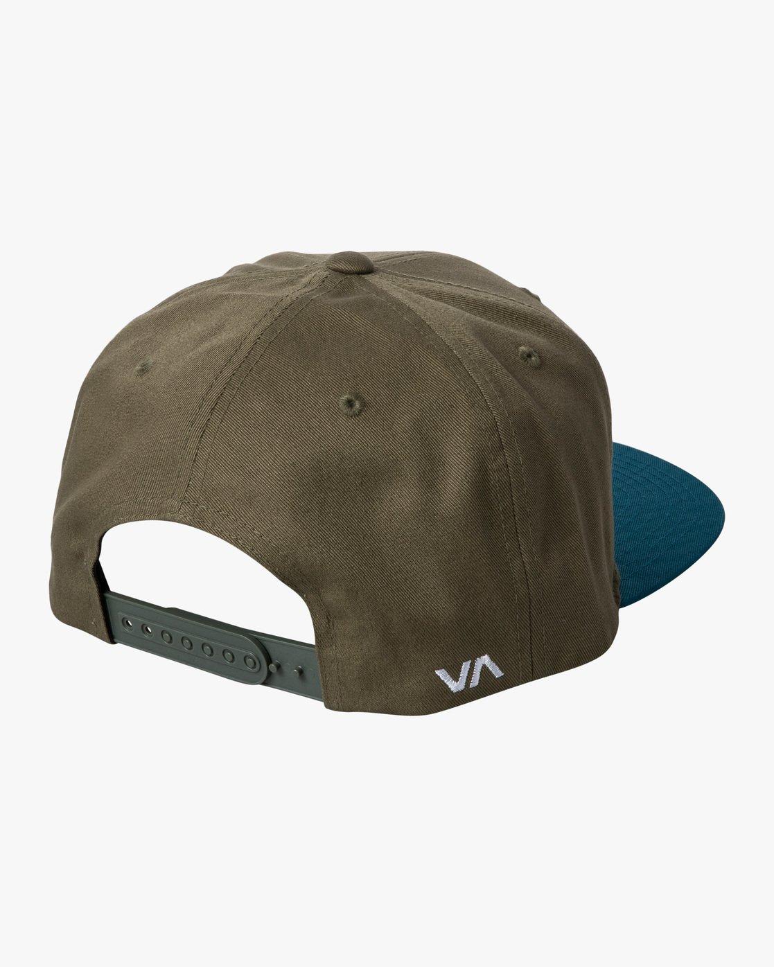 1 RVCA TWILL II SNAPBACK HAT Green MAAHWRSB RVCA