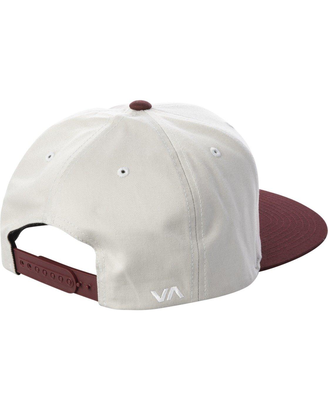 1 RVCA TWILL II SNAPBACK HAT Grey MAAHWRSB RVCA