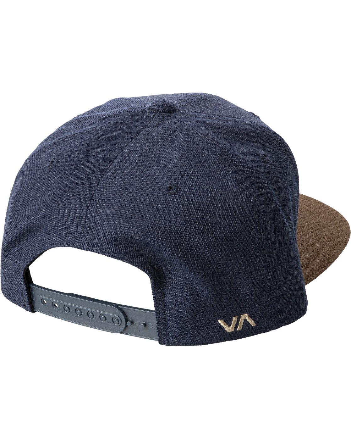 1 RVCA TWILL II SNAPBACK HAT Black MAAHWRSB RVCA