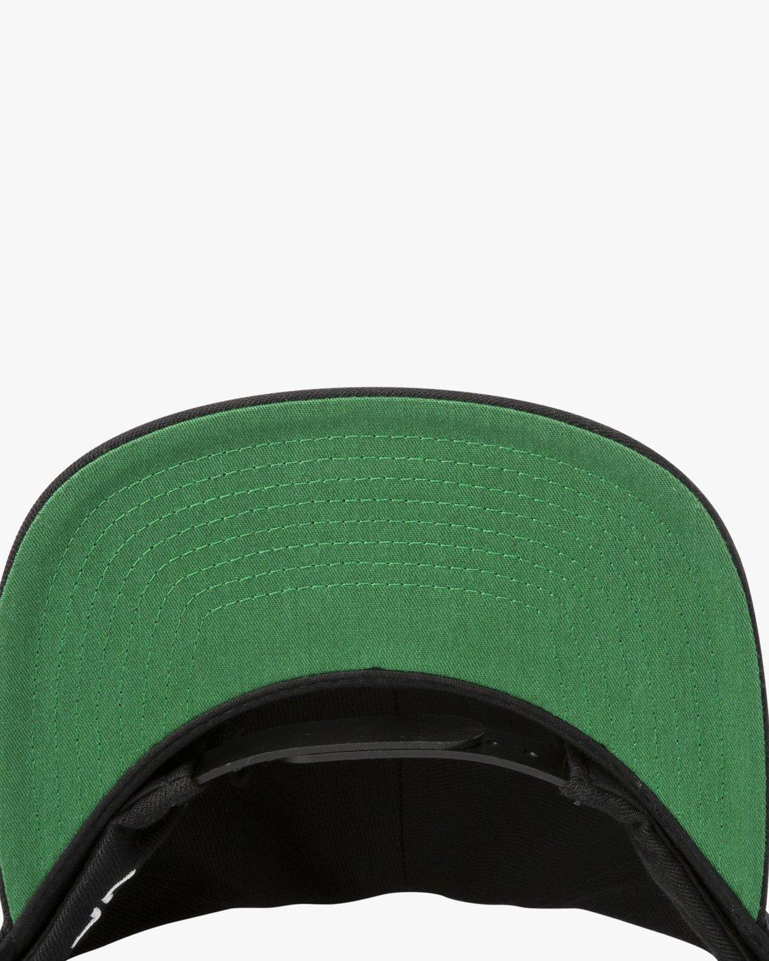 3 RVCA Twill Snapback III Hat Black MAAHWRSB RVCA
