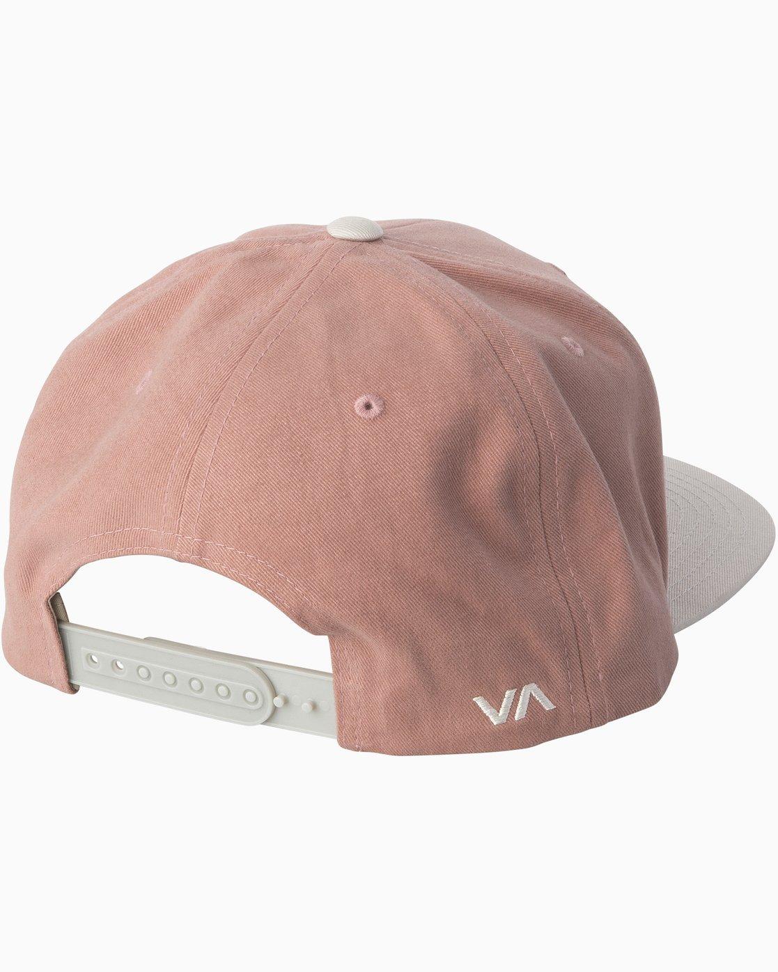 1 RVCA Twill Snapback III Hat Brown MAAHWRSB RVCA