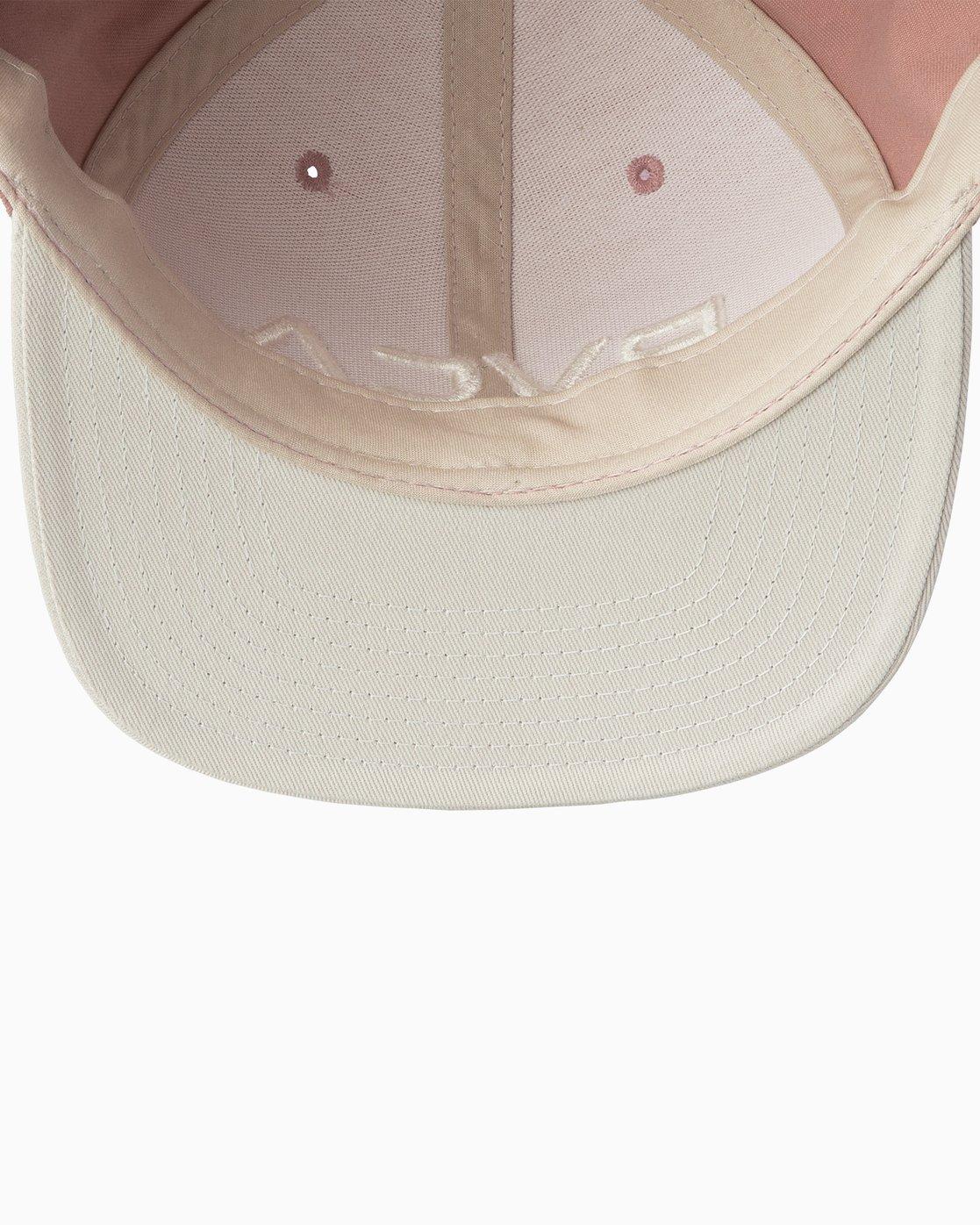 2 RVCA Twill Snapback III Hat Brown MAAHWRSB RVCA