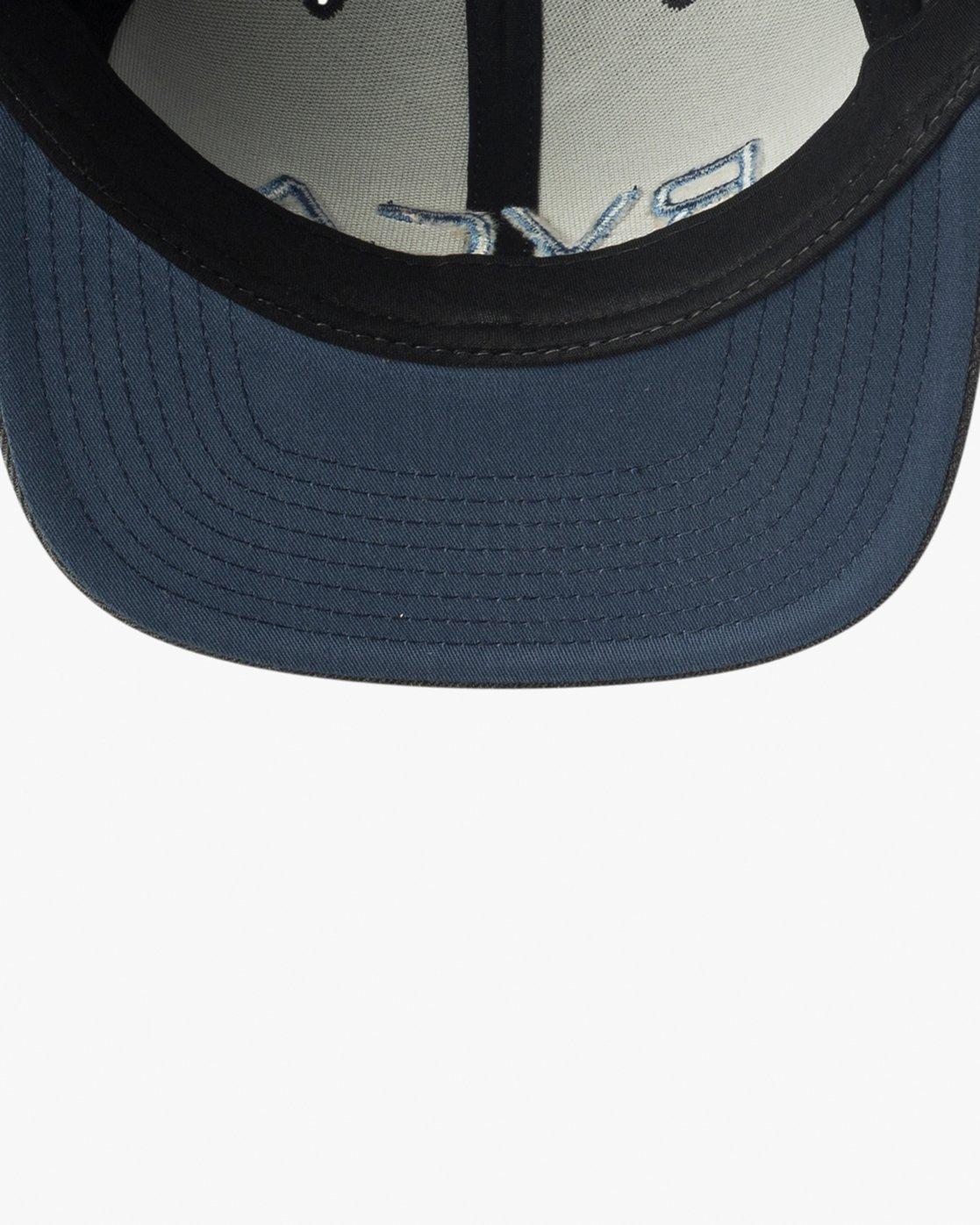 2 RVCA Twill Snapback III Hat Grey MAAHWRSB RVCA