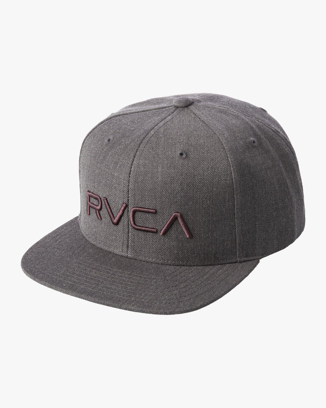 0 RVCA TWILL II SNAPBACK HAT Beige MAAHWRSB RVCA