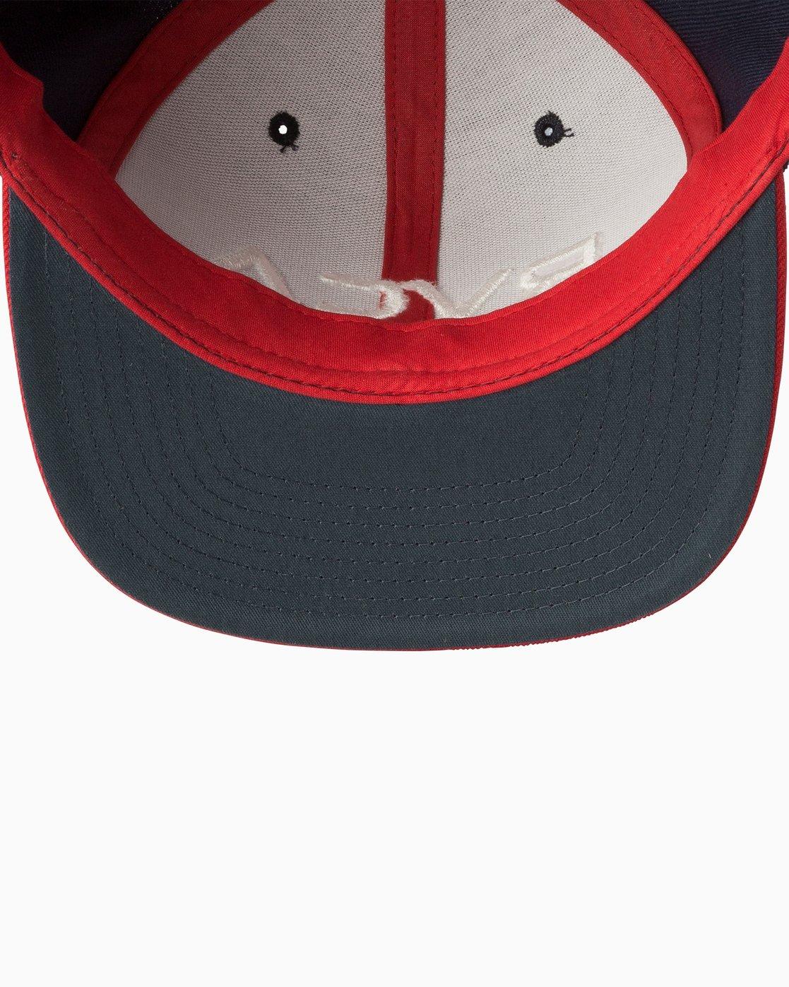 2 RVCA Twill Snapback III Hat Blue MAAHWRSB RVCA