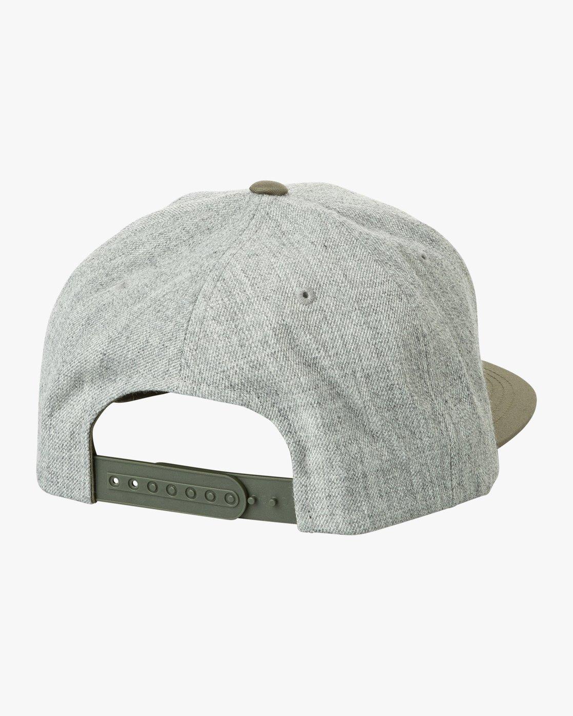 2 VA Snapback II Hat Grey MAAHWVAS RVCA