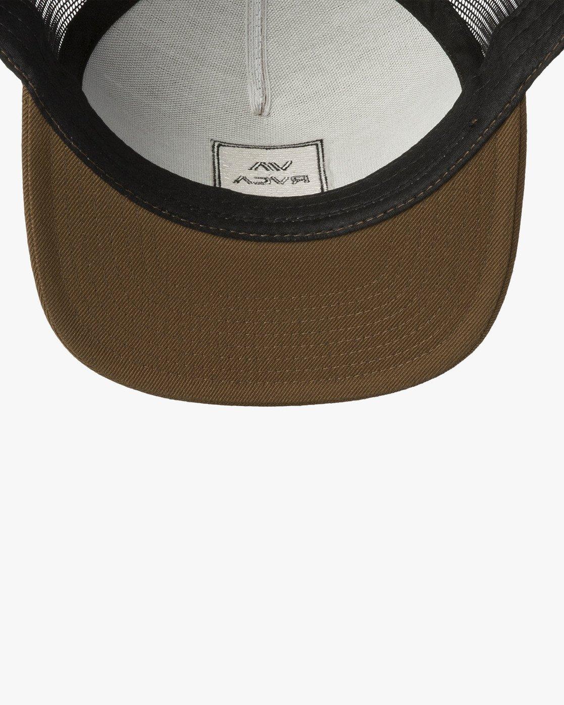 2 VA All The Way Trucker Hat III White MAAHWVWY RVCA