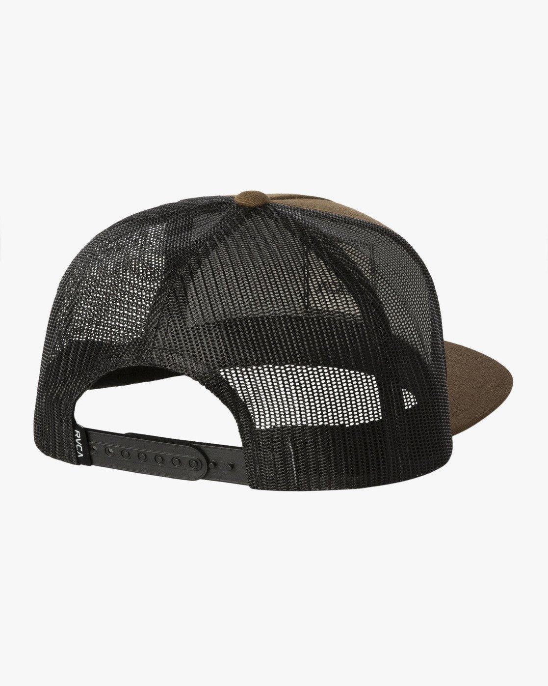 1 VA All The Way Trucker Hat III White MAAHWVWY RVCA