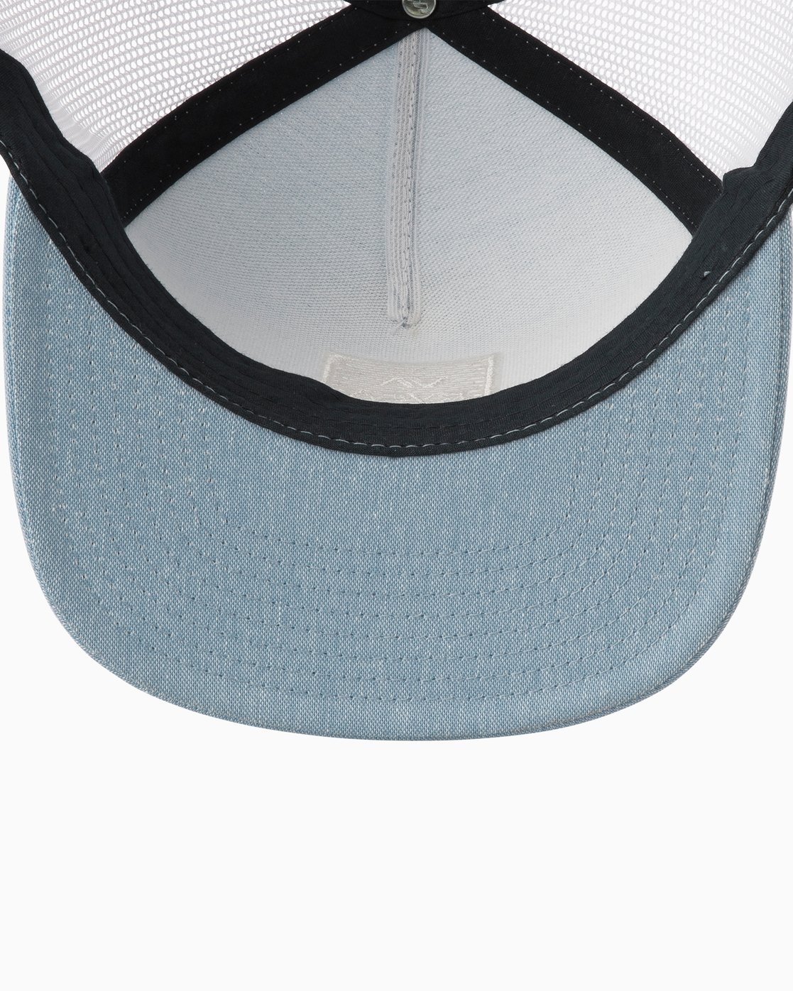 3 VA All The Way Trucker Hat III Blue MAAHWVWY RVCA