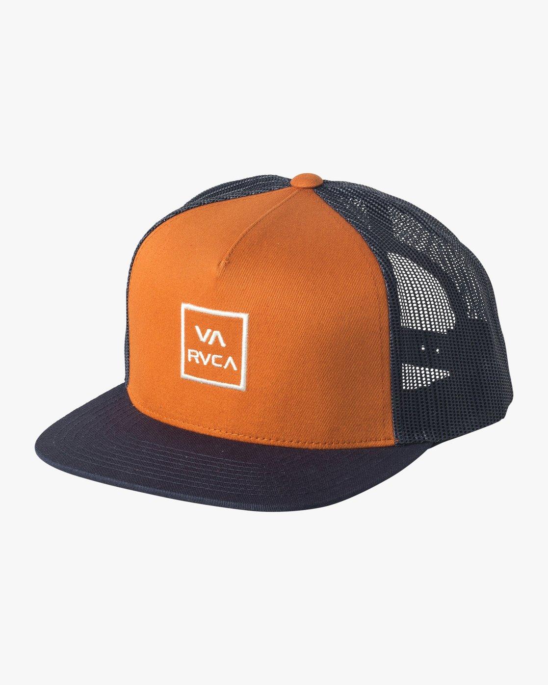 0 VA All The Way Trucker Hat III Yellow MAAHWVWY RVCA