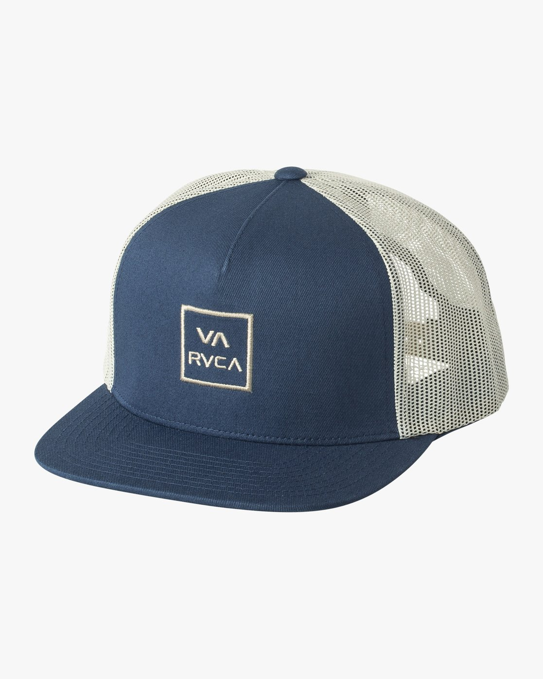 0 VA All The Way Trucker Hat III Blue MAAHWVWY RVCA