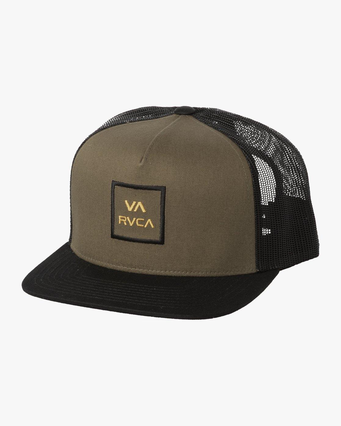 0 VA ATW TRUCKER HAT Green MAAHWVWY RVCA