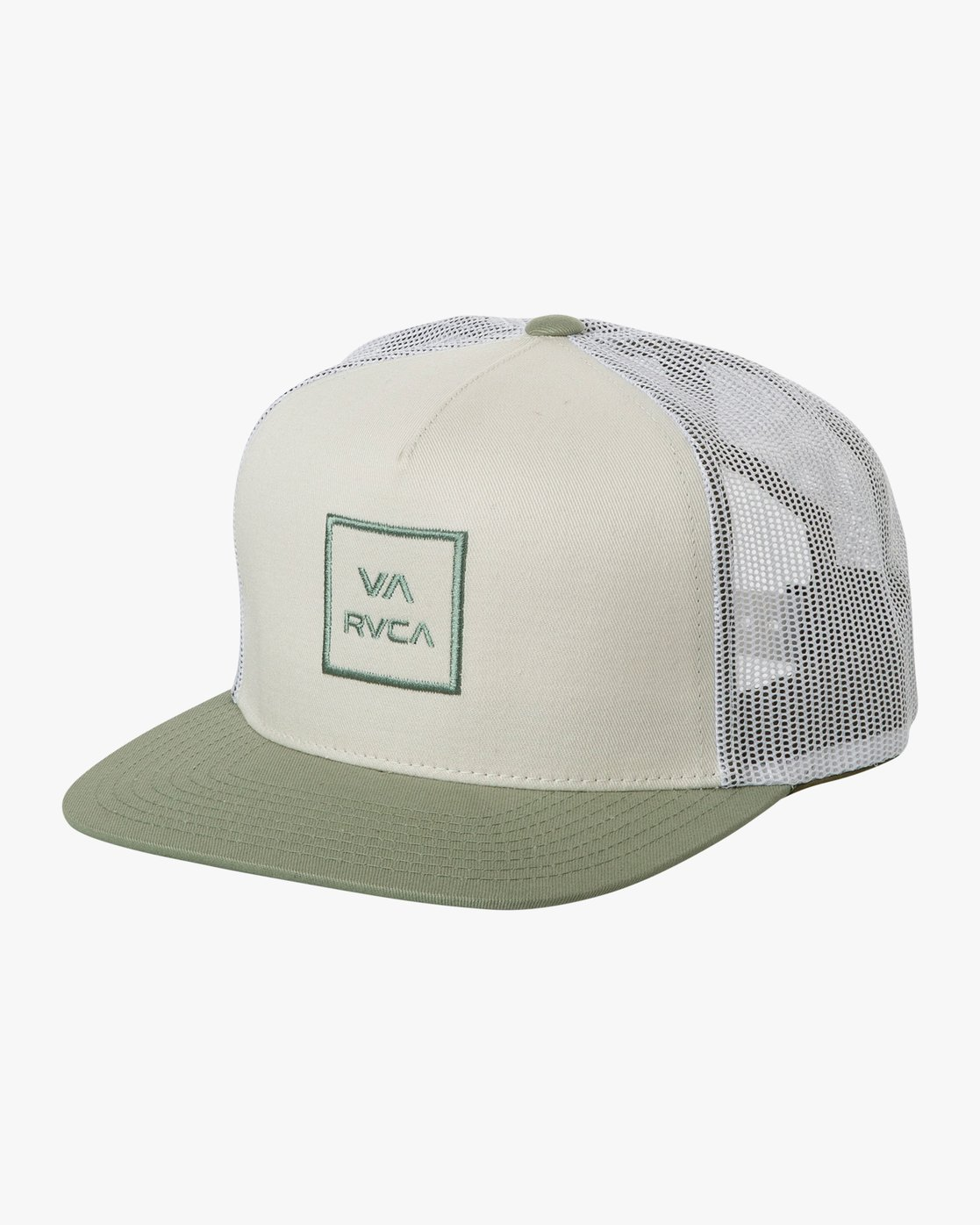 0 VA All The Way Trucker Hat III White MAAHWVWY RVCA
