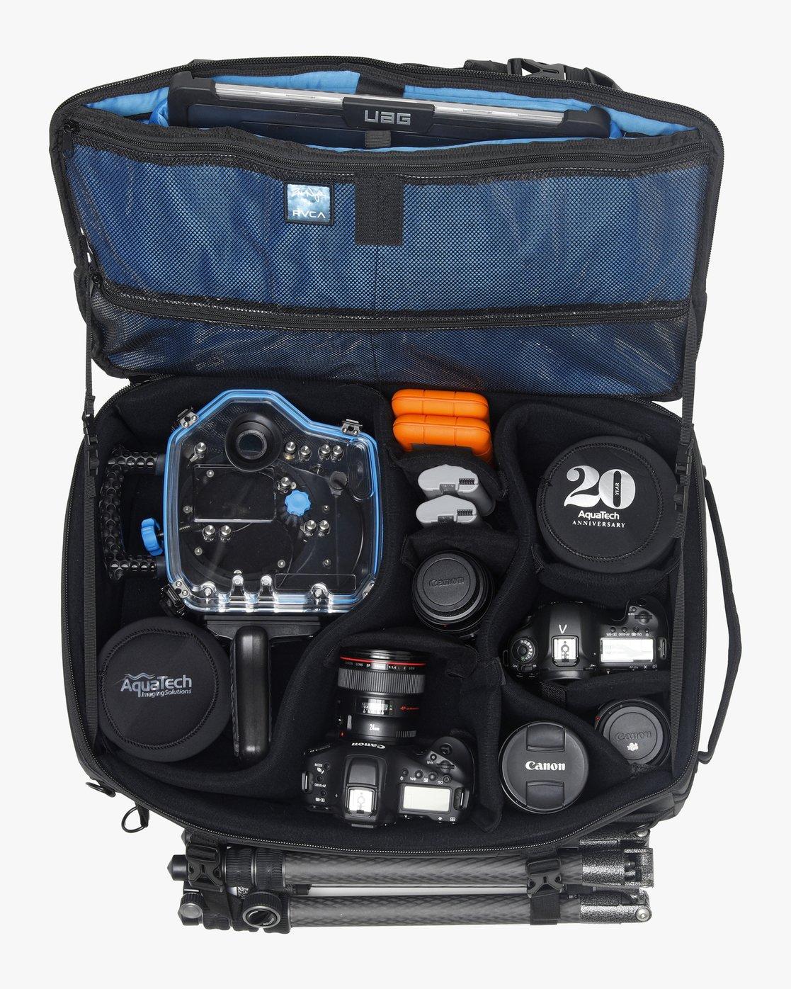 5 Zak Noyle Camera Duffel Black MABGVRZD RVCA