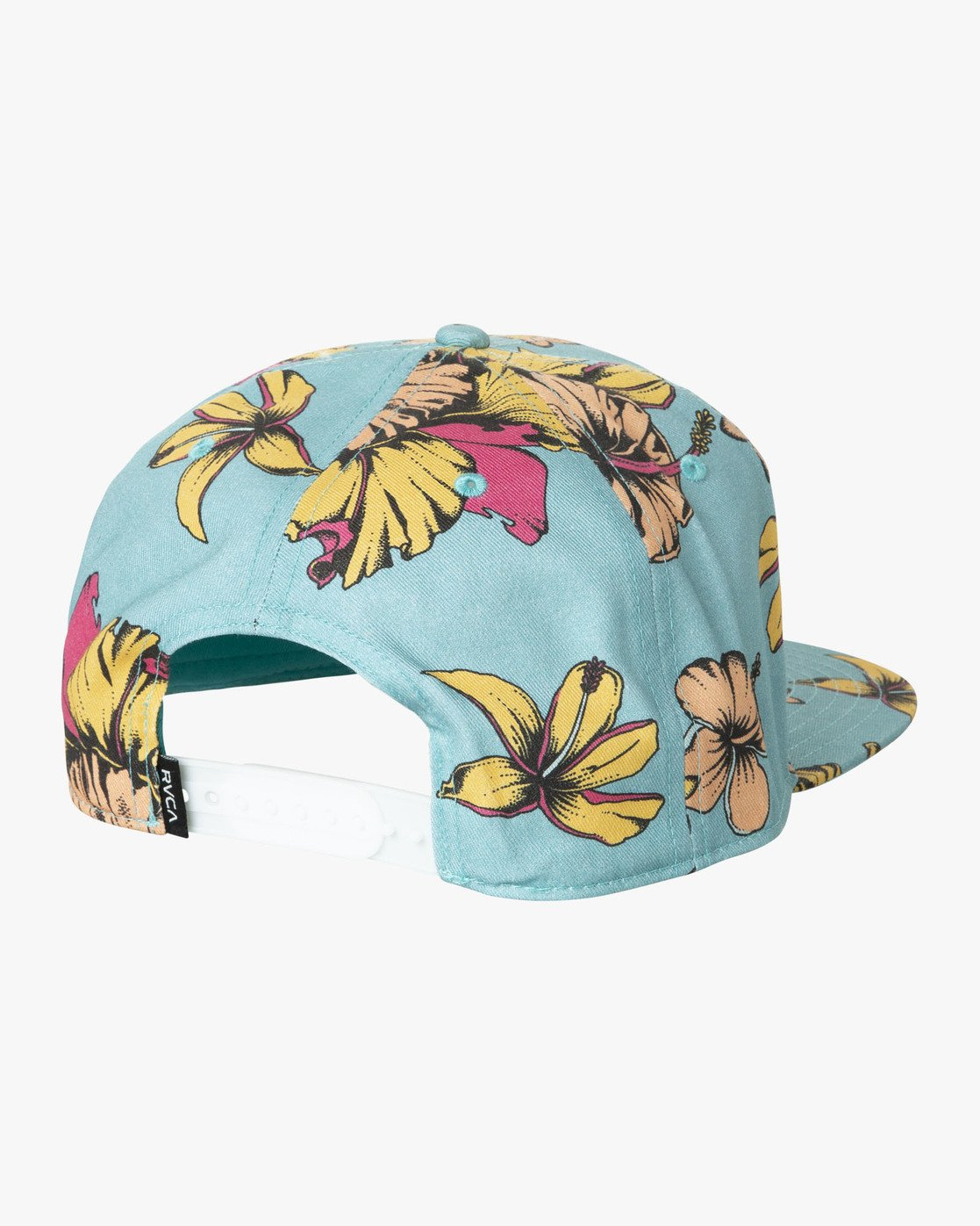 1 DMOTE FLORAL SNAPBACK HAT  MAHW1RDS RVCA