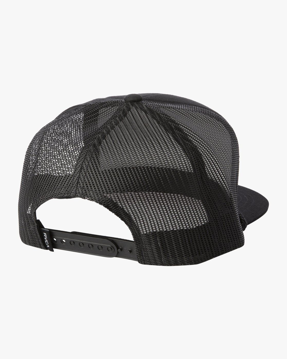 1 RVCA FOAMY TRUCKER HAT Black MAHW1RFT RVCA