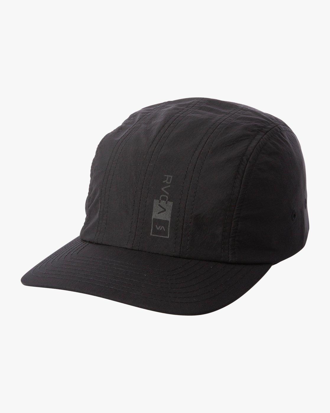 0 STREAMLINE CAP Black MAHW1RSC RVCA