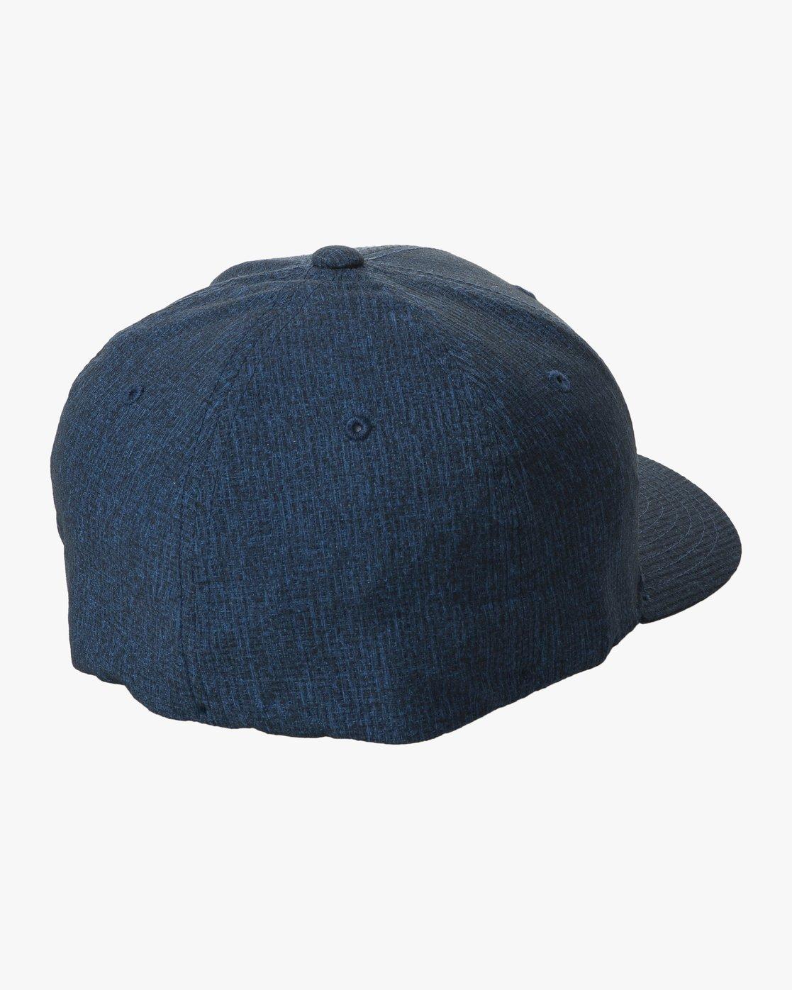 1 SHIFT FLEXFIT HAT Blue MAHW1RSH RVCA