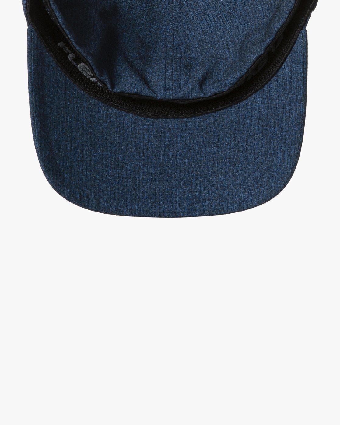 2 SHIFT FLEXFIT HAT Blue MAHW1RSH RVCA