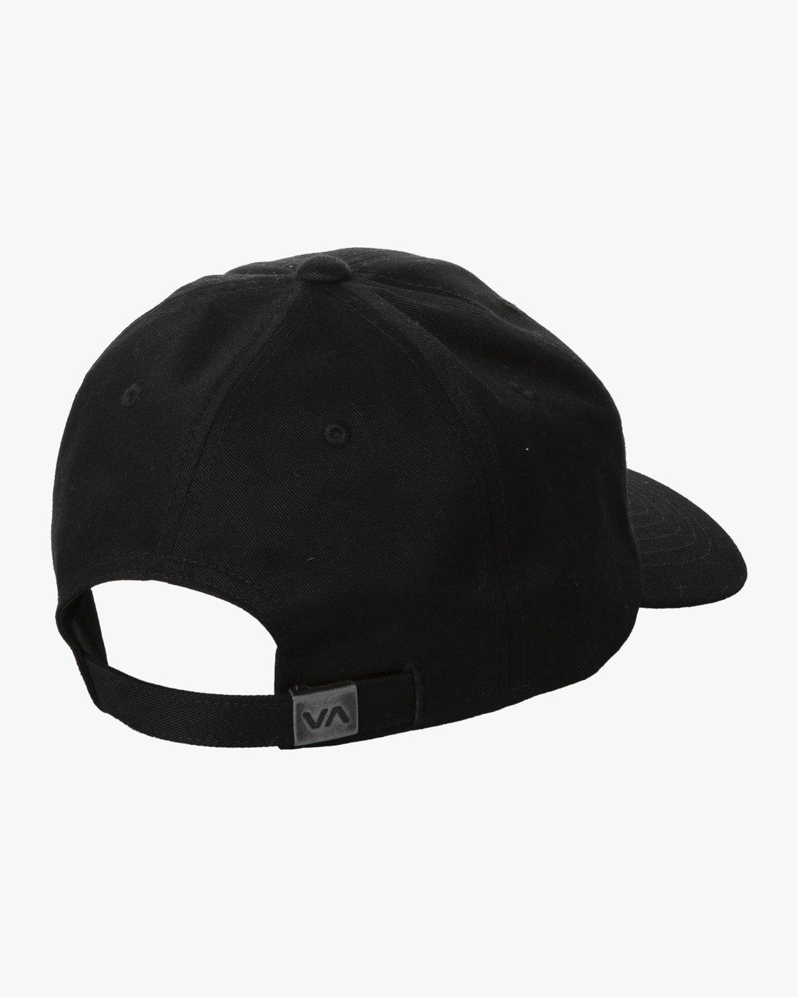 1 COMPOUND CAP Black MAHW2RCC RVCA