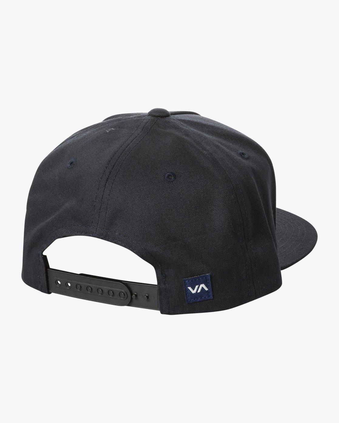 1 STAMP SNAPBACK Blue MAHW2RSS RVCA
