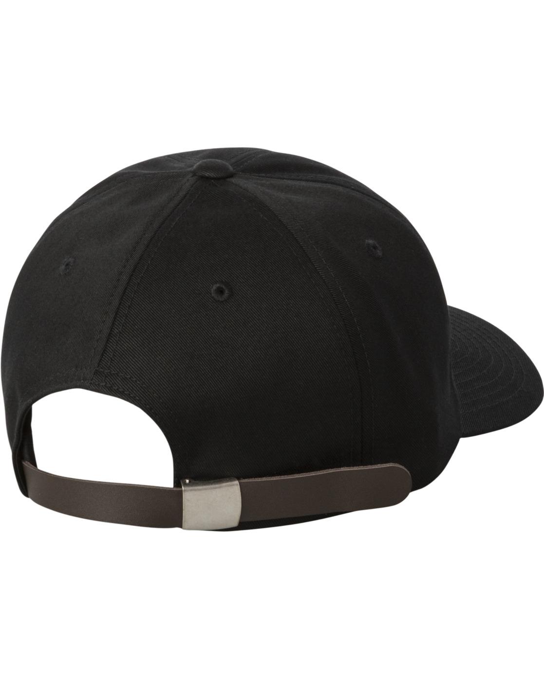 1 ANP CLASPBACK HAT Black MAHW3RAC RVCA