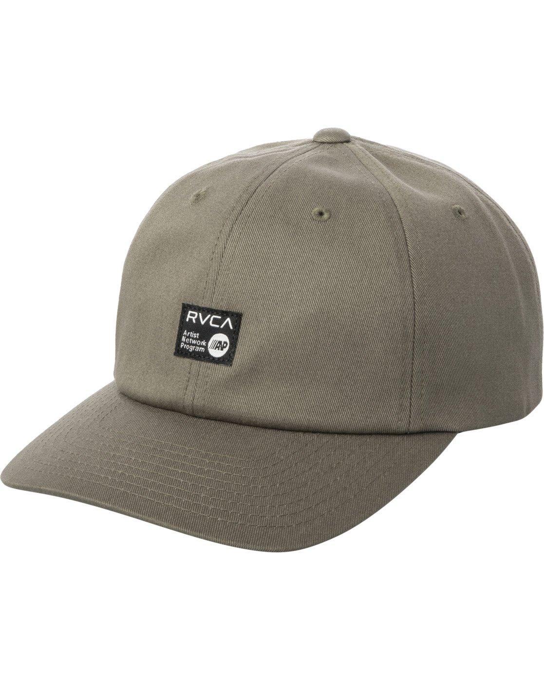 0 ANP CLASPBACK HAT Green MAHW3RAC RVCA