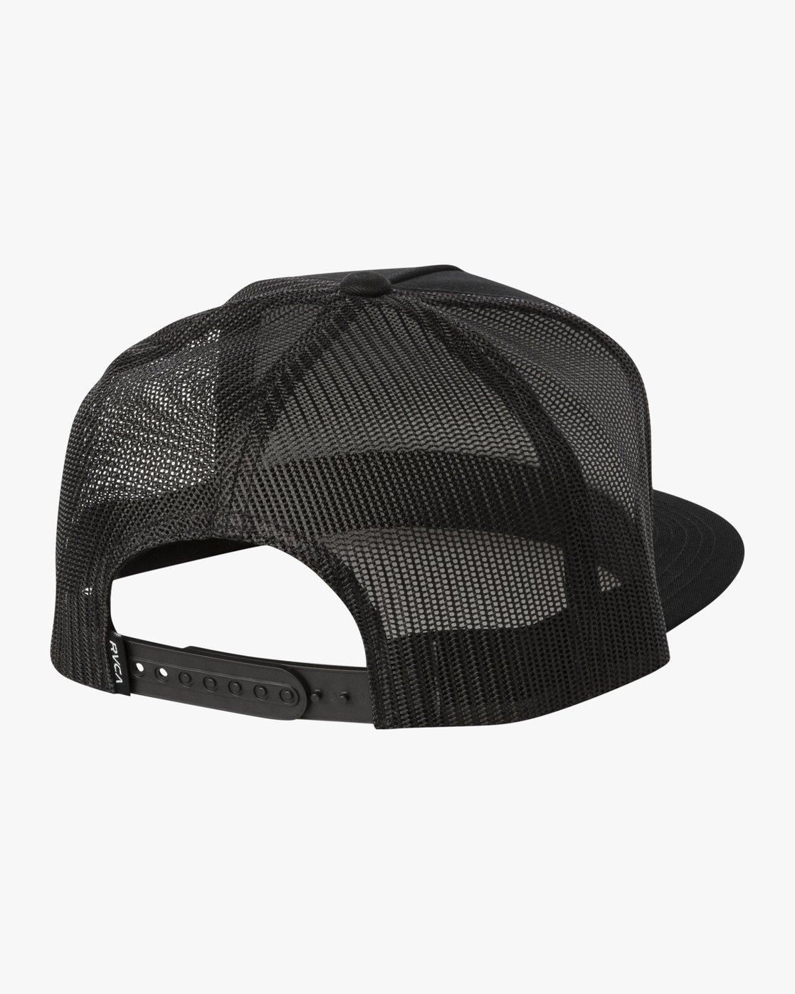2 ANP CLASPBACK HAT Black MAHW3RAT RVCA