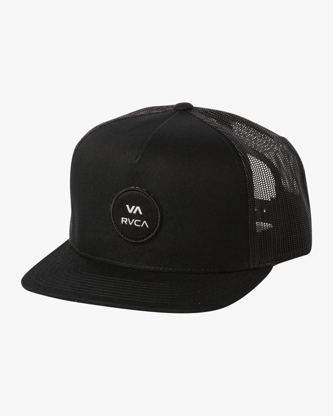 1 ANP CLASPBACK HAT Black MAHW3RAT RVCA