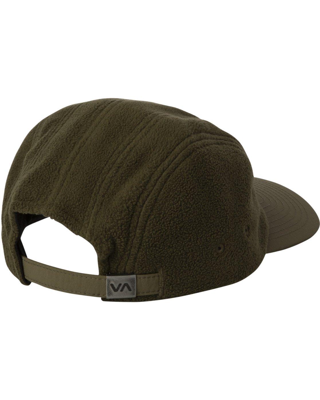 1 CUBE STRAPBACK HAT Green MAHW3RCS RVCA