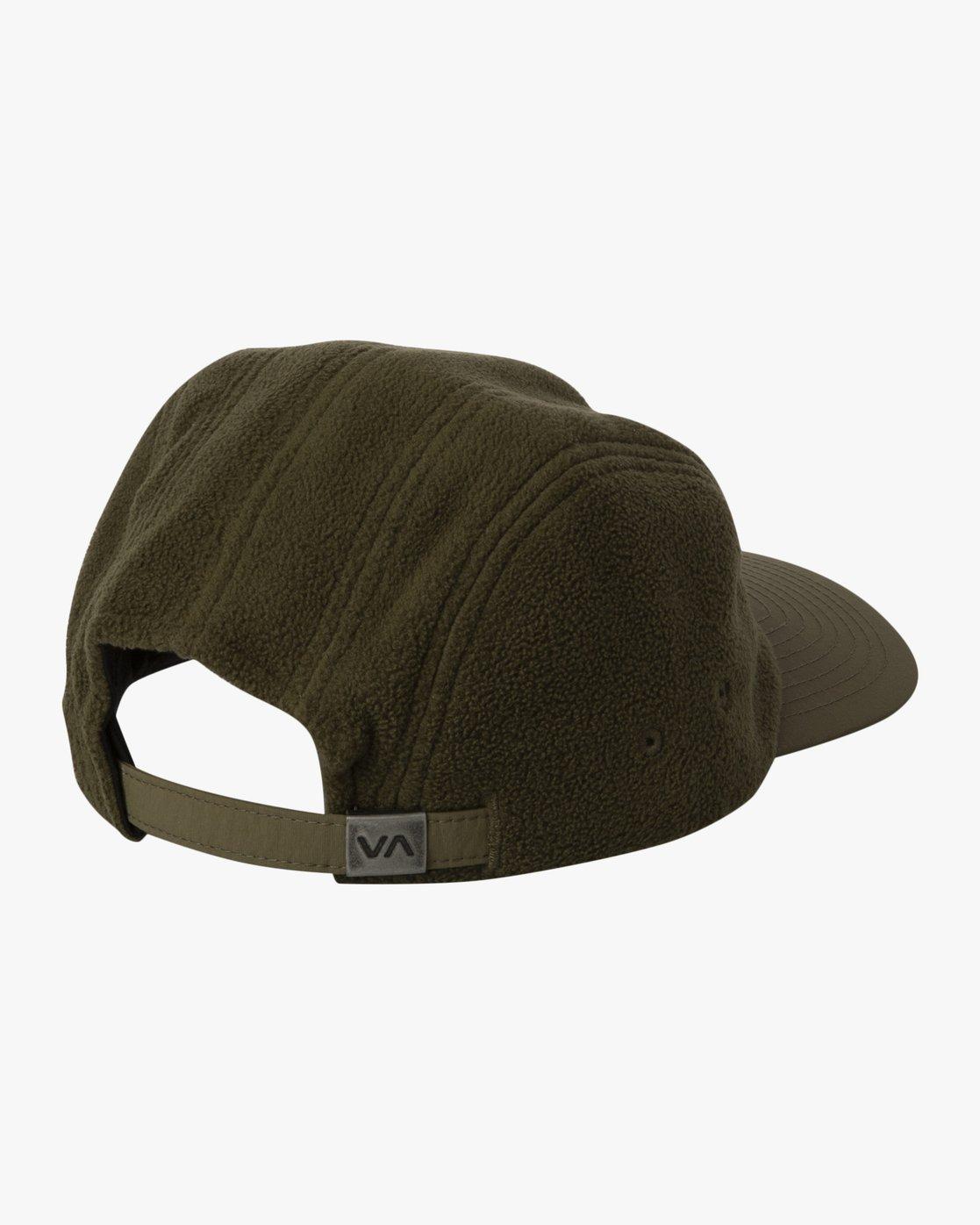 2 CUBE STRAPBACK HAT Green MAHW3RCS RVCA