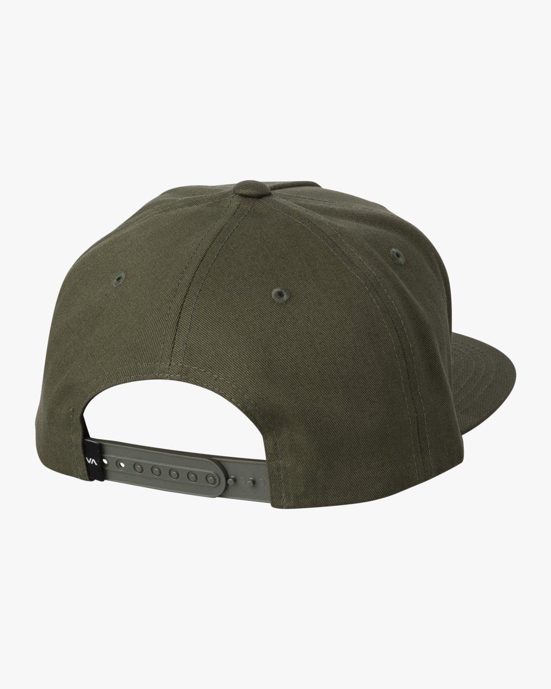 1 DYNASTY SNAPBACK Green MAHW3RDS RVCA