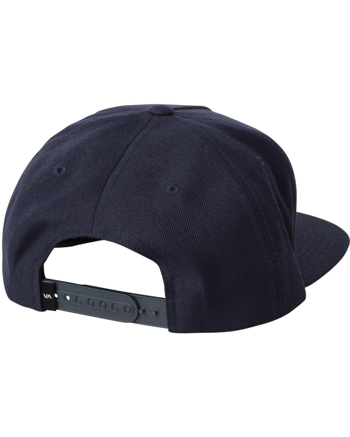 1 ELLIPTIC SNAPBACK HAT Blue MAHW3RES RVCA