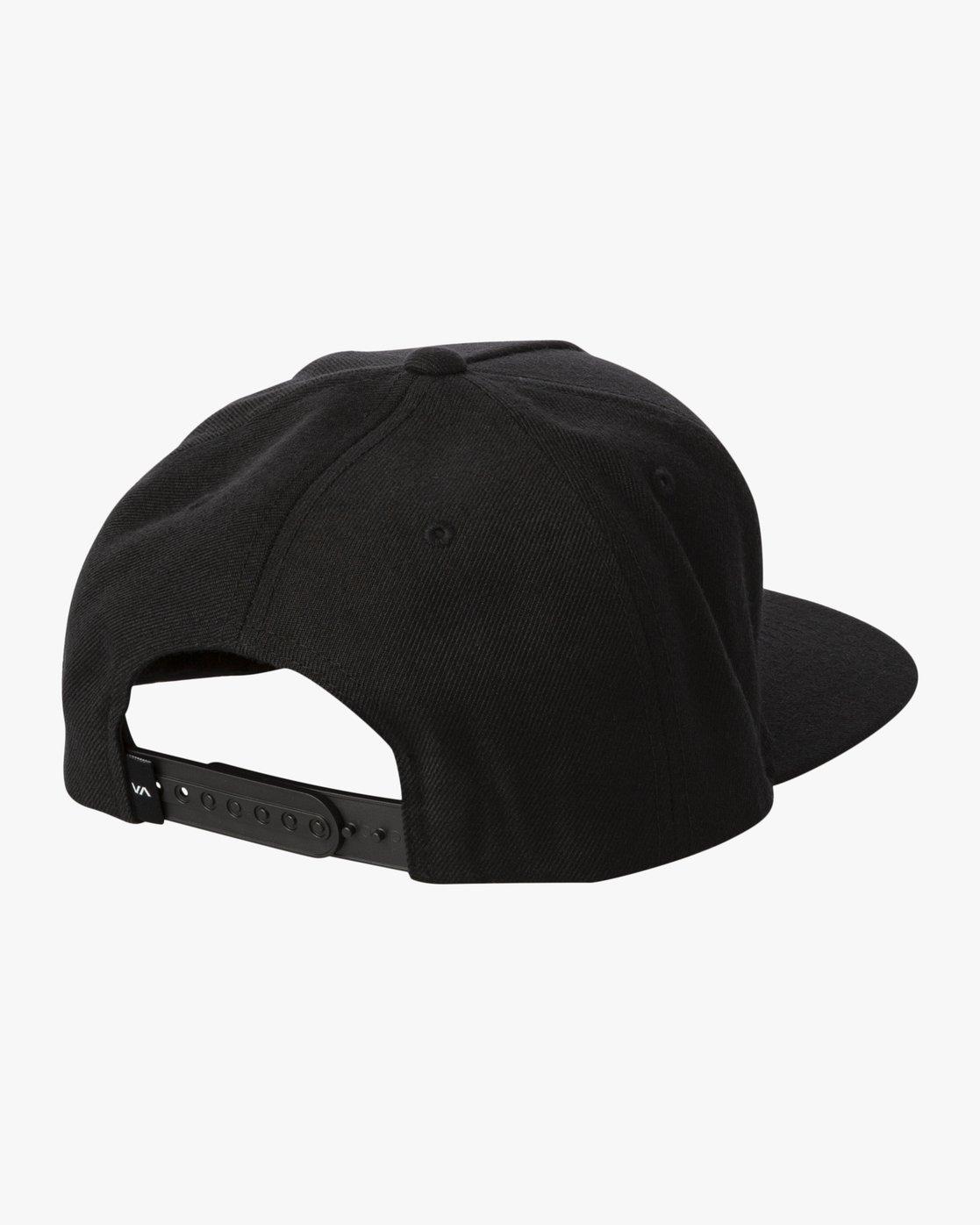 1 ELLIPTIC SNAPBACK Black MAHW3RES RVCA